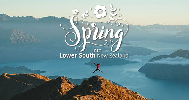Spring into Lower South New Zealand