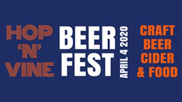 Hop 'N' Vine Beer Fest | 4 April, 2020